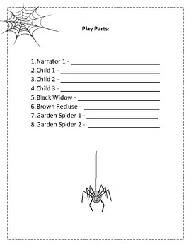 Spiders Reader's Theater