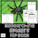 Spiders Research Flipbook