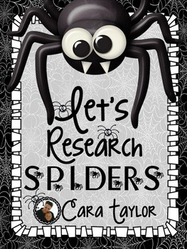 Spiders Research Unit ~ Perfect for Halloween!