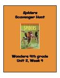 Spiders Scavenger Hunt (4th Grade Wonders; Unit 2 Week 4)