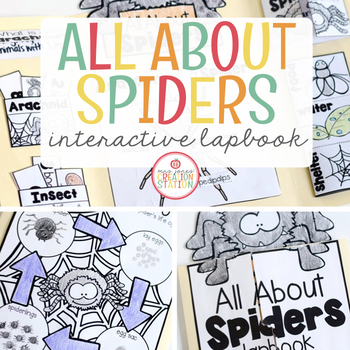 Spiders Science Lapbook