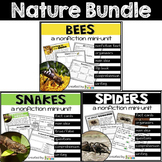 Spiders, Snakes, Bees Nature Bundle