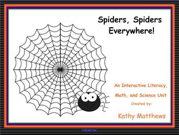 Spiders, Spiders, Everywhere!!!