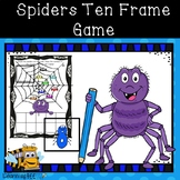 Spiders Ten Frame Game