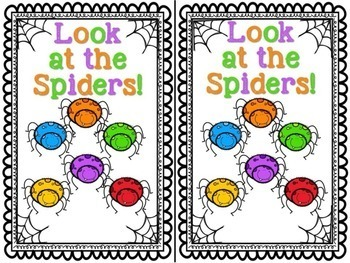 Spiders Emergent Readers & Centers