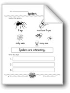 Spiders (Topic Sentence/Supporting Details)