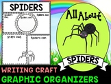 Spiders : Graphic Organizers and Writing Craft Set : Arachnids, Insects and Bugs