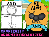 Ants : Graphic Organizers and Writing Craft Set : Science & Literacy