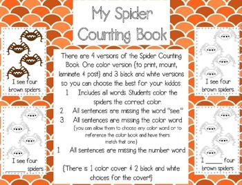 Spiders! {a mini unit}