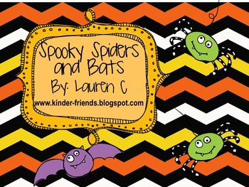 Spiders and Bats Literacy and Math Mini-Unit