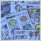 Spiders and Bats Math and Literacy Worksheets for Preschool