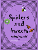 Spiders and Insects Unit