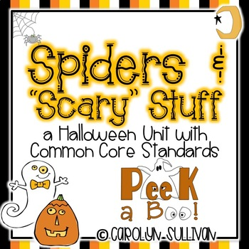 "Spiders and ""Scary Stuff"" Aligned to Common Core"