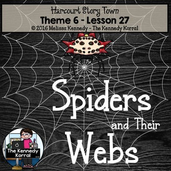 Spiders and Their Webs {Lesson 27}