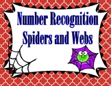 Spiders and Webs Number Recognition