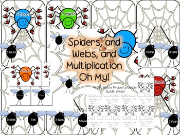 Spiders, and Webs, and Multiplication, Oh My!