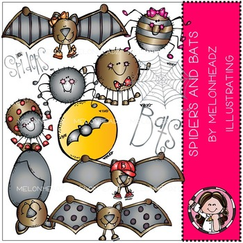 Spiders and bats by Melonheadz COMBO PACK