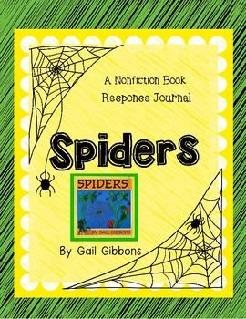 Spiders by Gail Gibbons-A Complete Nonfiction Companion Journal