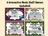 Spiders on the Staff: An Interactive Line and Space Identi
