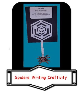 Spiders Writing Craftivity