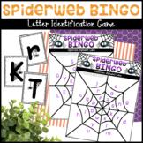 Spiderweb BINGO Letter Identification Game