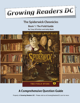 Spiderwick Chronicles: Chapter Summary and Question Guide