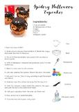 Spidery Halloween Recipe
