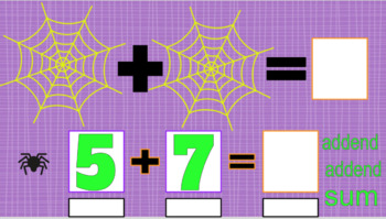 Spidery Sums