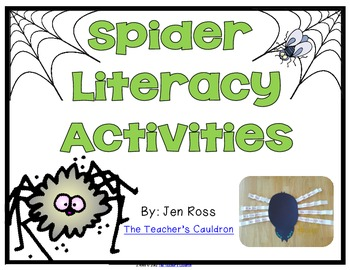 Spider Literacy Pack { Lit. Centers and Nonfiction}
