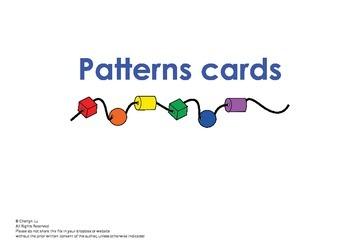 Spielgaben Patterns card