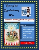 Spies of the Revolutionary War Writing Unit and Lapbook