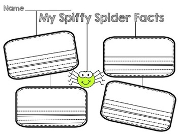 Spiffy Spiders Packet
