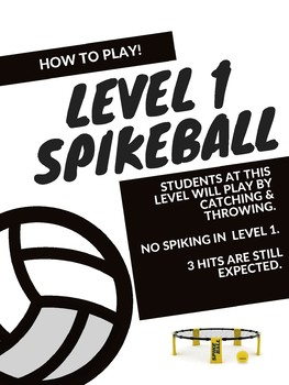 SpikeBall Posters