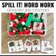 Sensory Bin Activities for Word Work