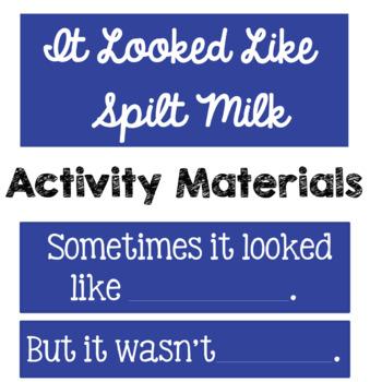Spilt Milk Supplemental Activity Materials