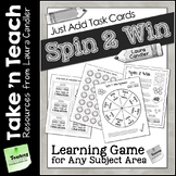 Spin 2 Win Game (Take N Teach Version)