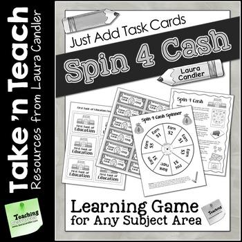 Spin 4 Cash Game (Take N Teach Version)