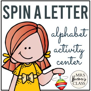 Spin a Letter Alphabet Center