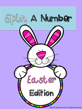 Spin A Number: Easter Edition
