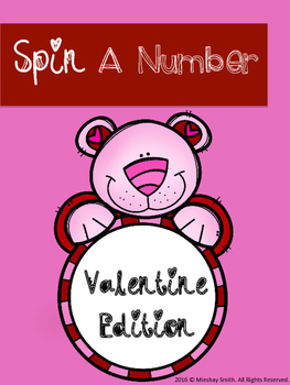 Spin A Number: Valentine Edition