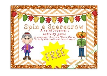 Spin A Scarecrow Game [There Was an Old Lady Who Swallowed Some Leaves]
