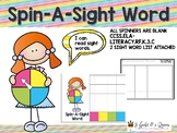 Spin-A-Sight Word