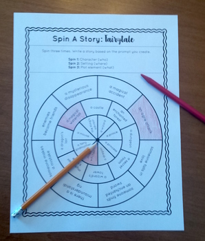 Spin A Story: Fairytale Story Spinner