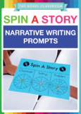 Spin-A-Story - Narrative Writing Prompts and Writing Plan