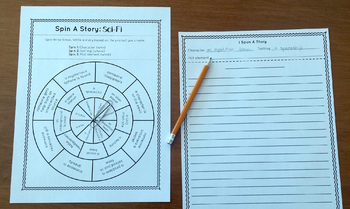 Spin A Story: Science Fiction Story Spinner