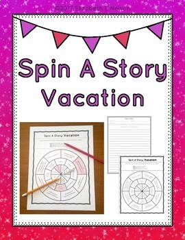 Spin A Story: Vacation Story Spinner