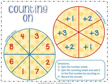 Spin-A-Strategy:  Counting on and Counting Back