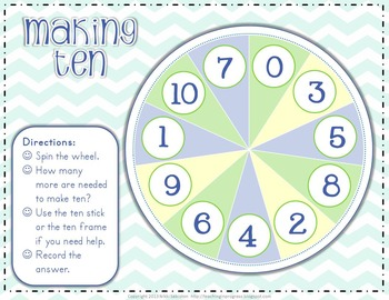 Spin-A-Strategy:  Making Ten