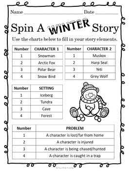 Spin A WINTER Story