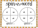Spin-A-Word Consonant Blends
